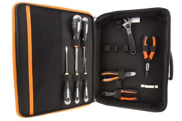 Product image for 9 piece Ergo general purpose tool kit