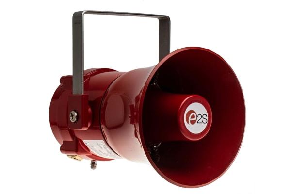 Product image for e2s Horn Speaker, 15W, ATEX, Aluminium, IP66, IP67