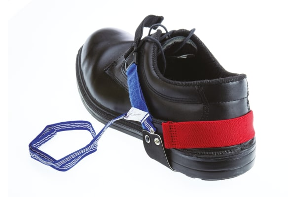 Product image for Non-marking heel grounder with adj strap