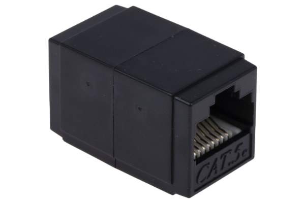Product image for Cat.5e RJ45 UTP socket-socket coupler