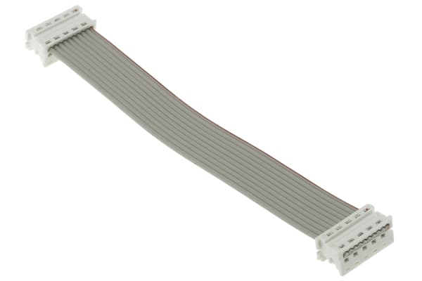 Product image for 10 way picoflex cable assembly,100mm L