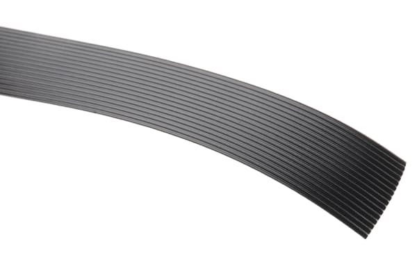 Product image for 16 way high flex 1.27mm ribbon cable,5m