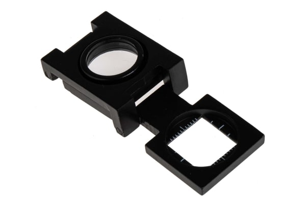 Product image for Folding body magnifier,10X 14mm lens dia