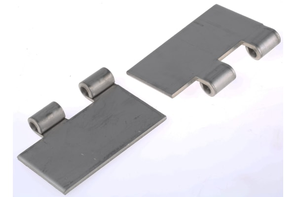 Product image for 316L S/STEEL BUTT HINGE,80X50X3MM