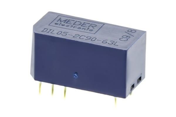 Product image for DPCO SIL REED RELAY,0.25A 5VDC COIL