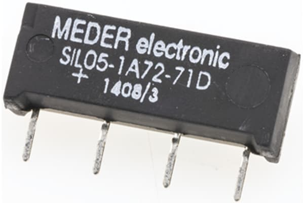 Product image for SPNO SIL REED RELAY,1A 5VDC COIL