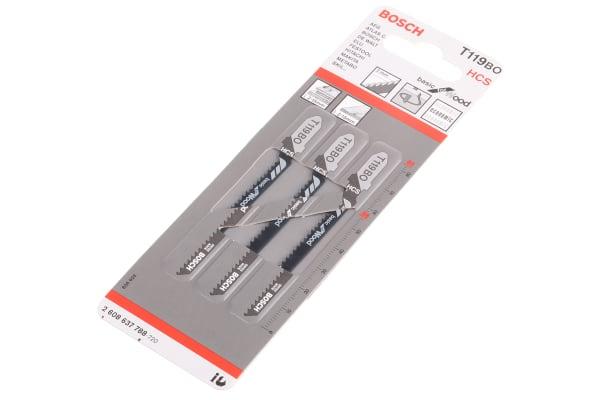Product image for T119BO T-shank HCS jigsawblade,2mm pitch