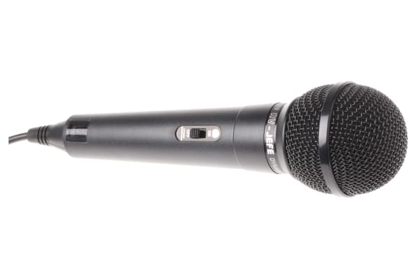 Product image for Black general purpose microphone,500ohm