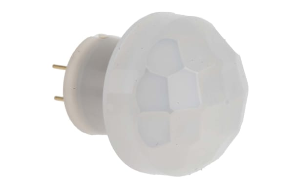 Product image for SENSOR, PIR, COMPACT, LONG, 10M, WHITE