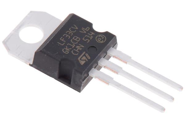 Product image for 500MA,3.3V,LDO VOLTAGE REGULATOR,LF33CV