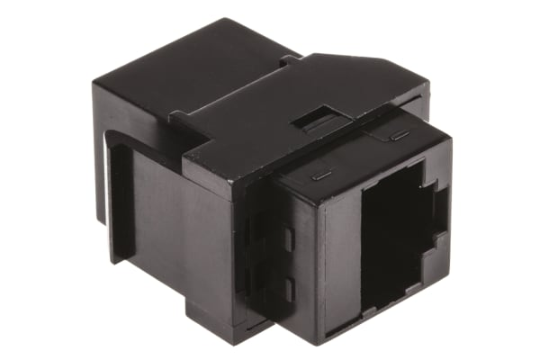 Product image for Cat5e RJ45 snapin FF panel coupler