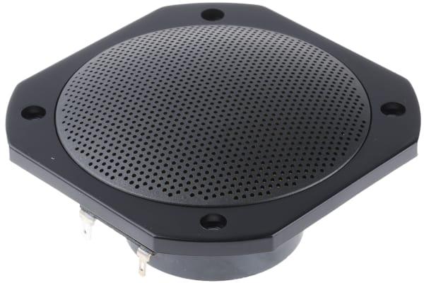 Product image for BLK FULL RANGE LOUDSPEAKER,25W 8OHM 4IN