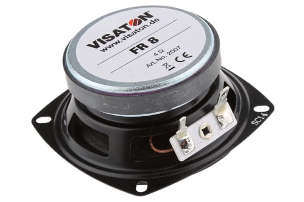 Product image for LOUDSPEAKER,10W 4OHM 3.3IN