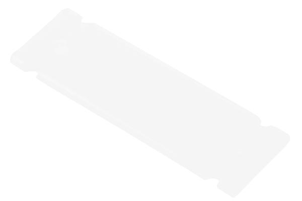 Product image for Polyethylene label holder,35x13mm