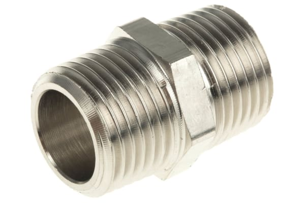 Product image for Male BSPT nipple adaptor,R1/2xR1/2