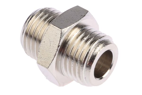 Product image for Male BSPP nipple adaptor,G1/4xG1/4