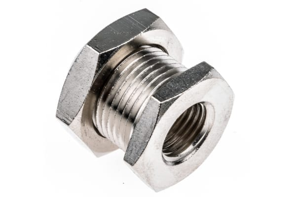 Product image for Female BSPP bulkhead connector,G1/4