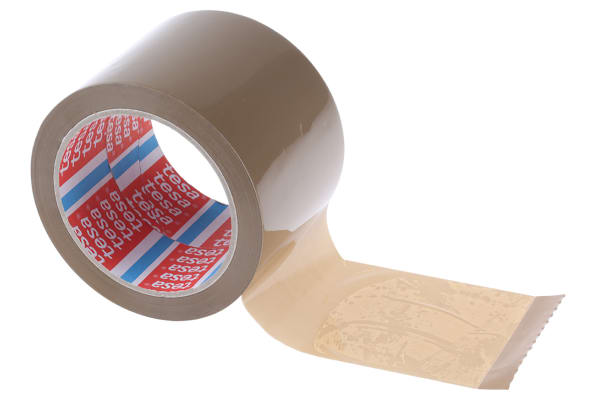 Product image for BROWN HD SEALING TAPE,66M L X 75MM W