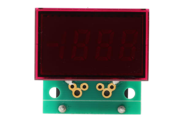 Product image for RedLED display AC ammeter,19.99A 85-264V