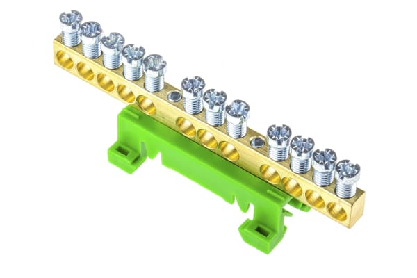 Product image for Entrelec, DBTI Earth Bar for Terminal Block