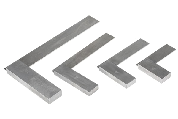 Product image for 4 piece try square set,2-6in range