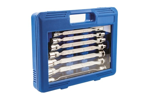 Product image for 10piece flexible box wrench set