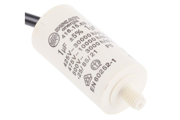 Product image for 41610/15 CABLE END MOTOR CAP,1UF 450V