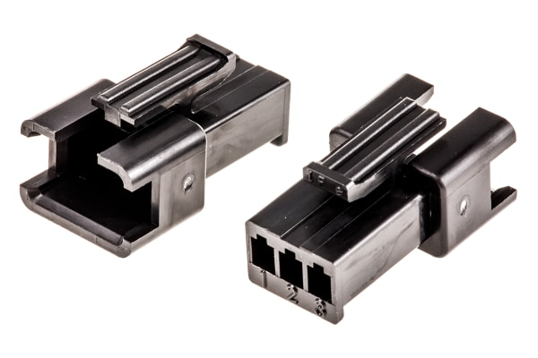Product image for JST, 3 Way, 1 Row, Straight Backplane Connector