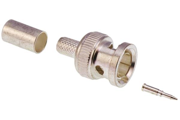 Product image for BNC PLUG, CRIMP,RG59, RG62, RG140, RG210
