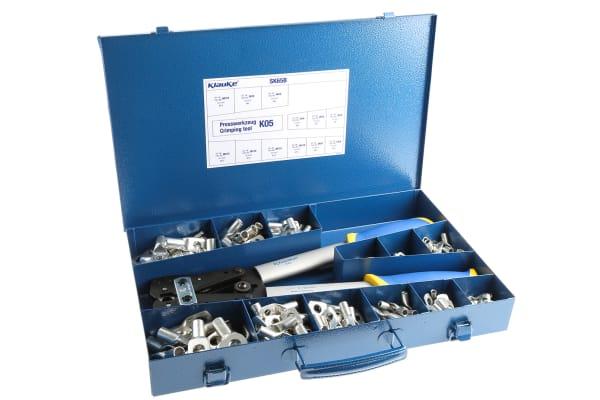 Product image for Klauke Tubular Ring Terminal Crimp terminal Kit