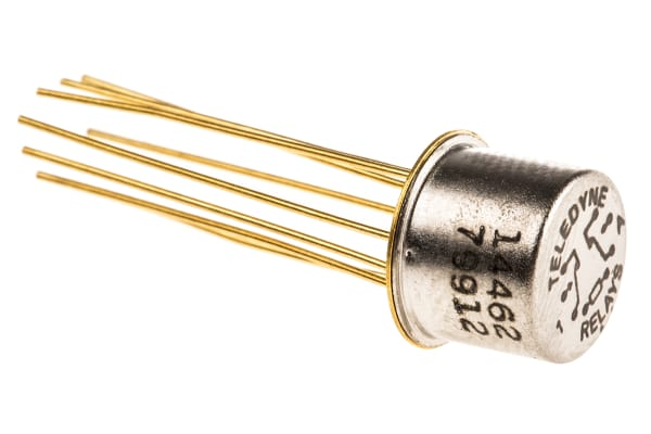 Product image for DPDT RF 412SERIES RELAY,12VDC 390OHM