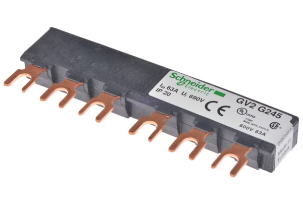 Product image for 2 way busbar for GV2 motor cct breaker