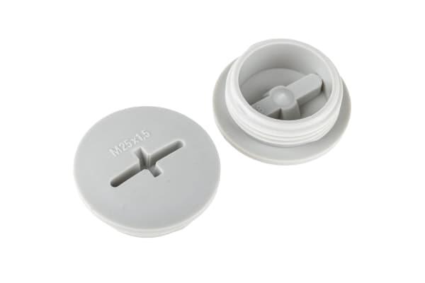 Product image for Blanking plug, nylon, M25, male thread