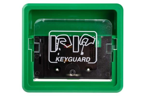 Product image for GREEN KEYGUARD KEYCASE W/INTEGRAL ALARM