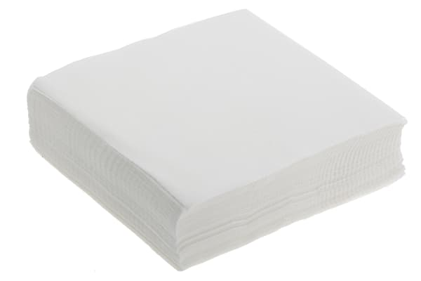 Product image for Chemtronics Dry Multi-Purpose Wipes for Various Applications Use, Bag of 1200