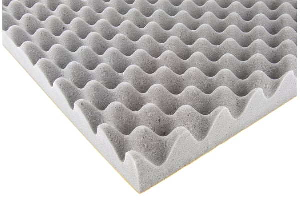 Product image for Paulstra Hutchinson Adhesive PUR Foam Acoustic Insulation, 700mm x 500mm x 50mm