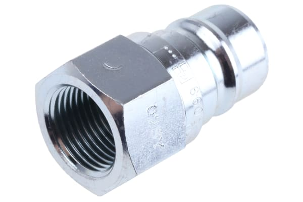Product image for 3/8in BSPP quick action male coupling