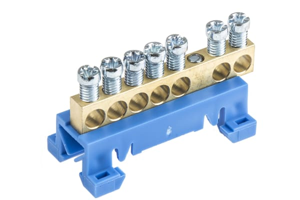 Product image for Entrelec, DBTI Neutral Bar for Terminal Block