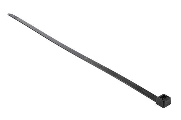 Product image for Black Nylon 6.6 Cable Tie, 540x13mm