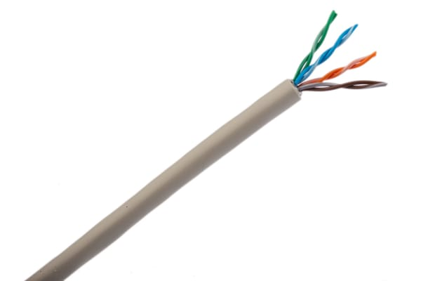 Product image for LSZH 4pair Datatwist Cat5e S-FTP 100m