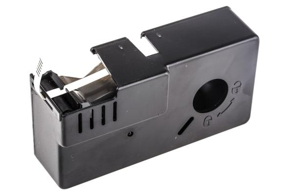 Product image for BLACK ON WHITE HEATSHRINK TUBE,3.2MM