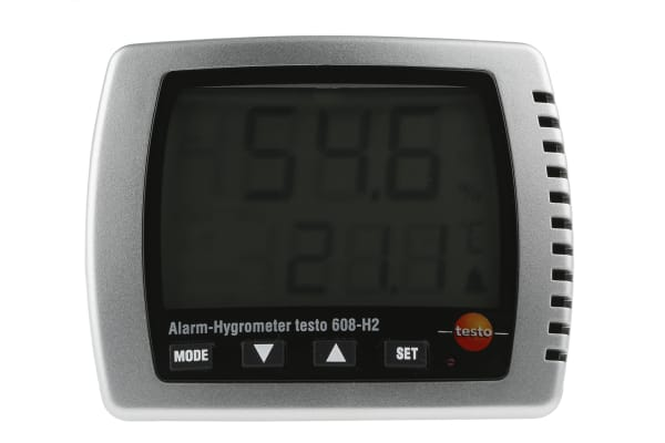 Product image for Testo 608-H2 Digital Hygrometer, Max Temperature +70°C, Max Humidity 98%RH