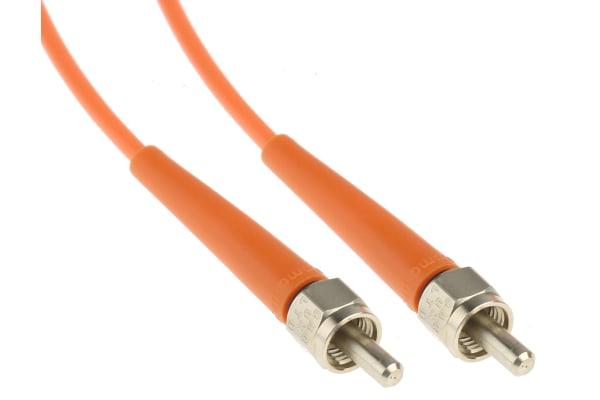 Product image for SMA-SMA fibre optic patch lead,200um 10m