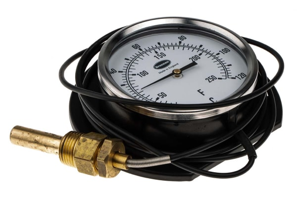 Product image for Remote thermometer 1.5m,0 to +120degC&F