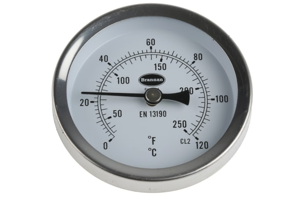 Product image for Magnetic thermometer,0 to +120deg C