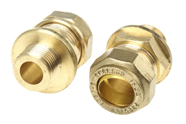 Product image for Straight coupling,15mm compx3/8in BSPP M