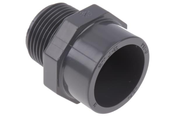 Product image for PVC-U ADAPTOR BUSH,1IN BSPT M-32MM SKT