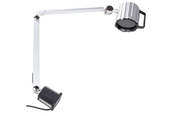 Product image for 240V adj. halogen light w/55W 12Vac bulb