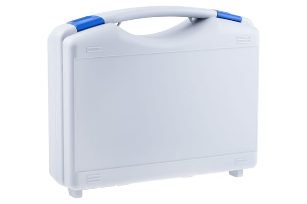 Product image for Grey/blue teckno case w/lid 261x175x77mm