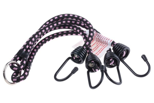 Product image for 4hooks elastic spider shock strap,24in L